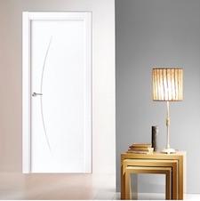 Puerta interior blanca 20000