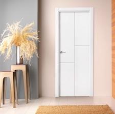 Puerta interior blanca 21000