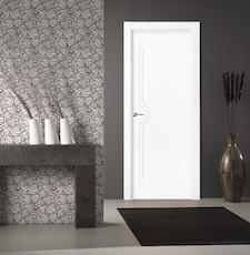 Puerta interior blanca 21300