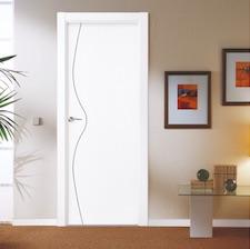 Puerta interior blanca 29200