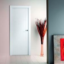 Puerta interior blanca 8800