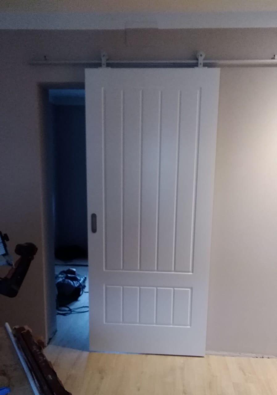 Galer a puertas lis - Carril puerta corredera ...