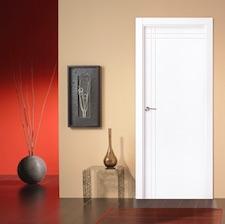 Puerta interior blanca 21400