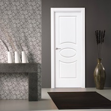 Puerta interior blanca 23000