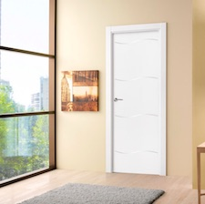 Puerta interior blanca 29800