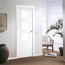 Puerta interior blanca 7000