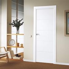Puerta interior blanca 8500