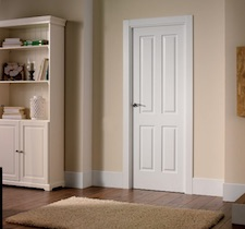 Puerta interior blanca 4000