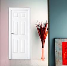 Puerta interior blanca 6000